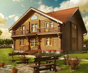 dom iz dereva_дом из дерева