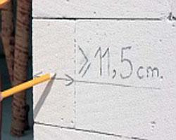 dopuski uglov gazobetona_минимальная длина подрезанных угловых блоков