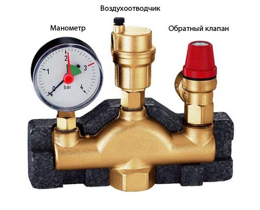 Что такое группа безопасности в системе отопления
