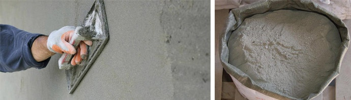 Строительная смесь на цементной основе
